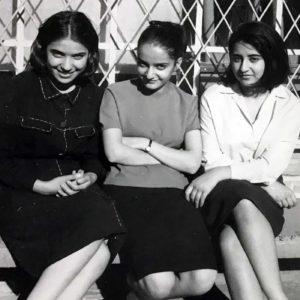 پروين و دوستان دبیرستانی اش، تهران، ۱۳۳۸